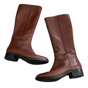 GEOX Tall Brown Boots Size 37